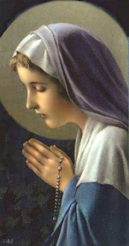 Mary intercedes for us