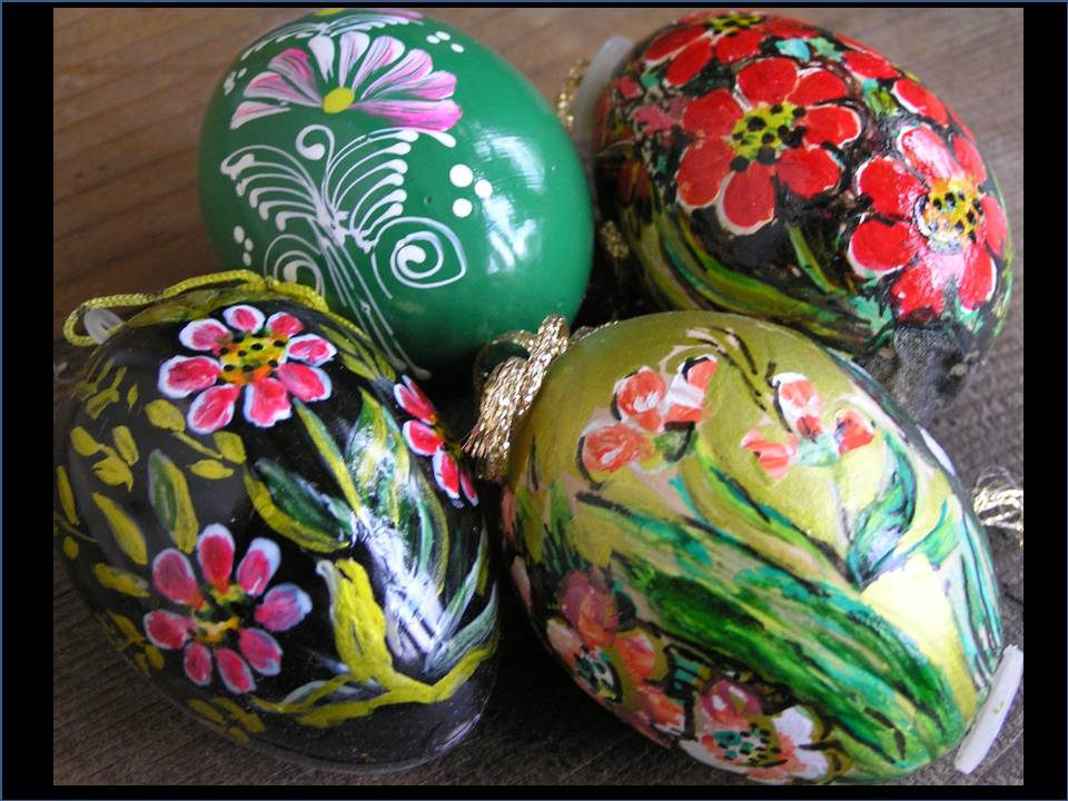 Easter Eggs painted by Lili photo by Michele Szekely