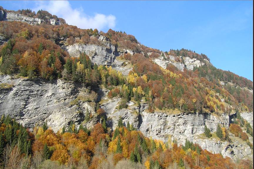 Autumn 2011 in the Alps