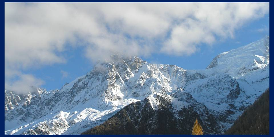 Peaks and snow in Chamonix November 2012 photo by MicheleSzek