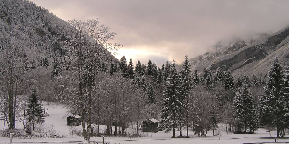 Winter in le Fer A Cheval photo by MichSzek